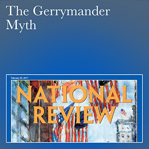 The Gerrymander Myth audiobook cover art