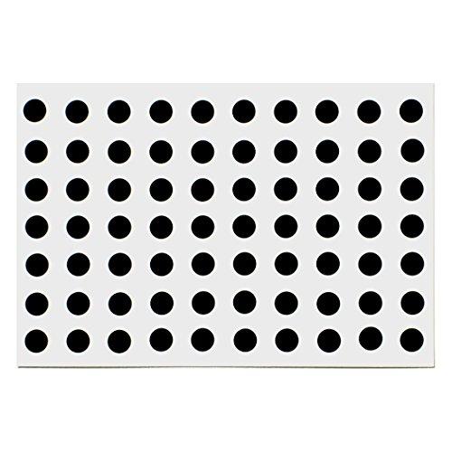 クラムワークス 盗撮防止シール 丸5mm PVC樹脂製 【レンズを塞ぎ、隠し撮りを防ぐ】 BSR05C-70P