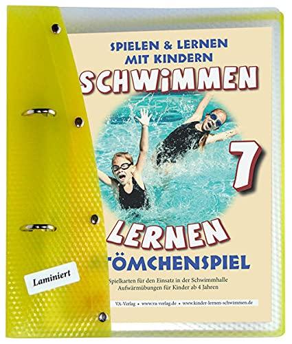 Schwimmen lernen 7: Atömchenspiel/Aufwärmübungen: laminiert (Schwimmen lernen - unlaminiert: Spielen & Lernen mit Kindern)