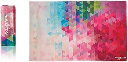 YOGA DESIGN LAB | The Hand Towel | Premium Non Slip Hand Towel | Designed in Bali | Colorful Eco Printed + Quick Dry + Soft | Ideal for Hot Yoga, Bikram, Ashtanga, Sport, Barre, Travel