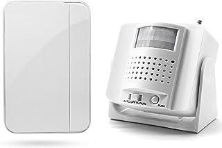 Welcome Door Bell Chime Motion Sensor Entry Alarm Wireless Doorbell Alert Retail Door Smart Visitor Motion Detector Securi...
