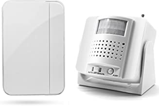 Welcome Door Bell Chime Motion Sensor Entry Alarm Wireless Doorbell Alert Retail Smart Detector Security System Caregiver ...