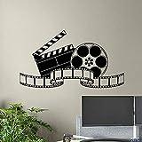 Kino Wandtattoo Film Film Band Poster Heimkino Aktion Zeichen Vinyl Aufkleber Streifen Removable...