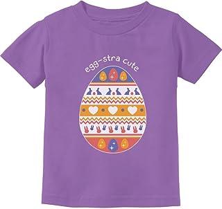 Tstars - Eggstra Cute Decorated Easter Egg Cute Gift Toddler Kids T-Shirt