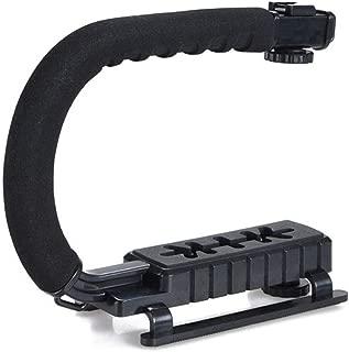 Feefine U Shape Handheld Bracket Handle Grip Stabilizer for Canon DSLR Camera Camcorder Video