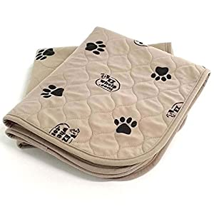 EZwhelp 16.5″ x 19.5″ (Value 2-Pack) Machine Washable, Reusable Pee Pad/Quilted, Fast Absorbing Dog Whelping Pad/Waterproof Puppy Training Pad/Housebreaking Absorption Pads/Travel Size