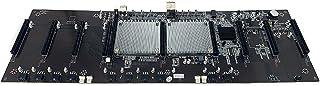 Mano de obra fina Tablero ETH BTC de 9 tarjetas X79 3060 espaciado grande min.