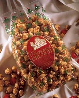 The South Bend Chocolate Company Caramel Corn Christmas Crunch Gift Bag - 1 lb