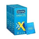 Durex - Préservatifs Comfort XXL 30 Préservatifs