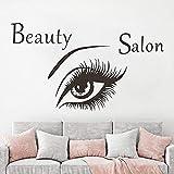 BailongXiao Sin Marco-Salón de Belleza Pegatinas de Pared Ojos Creativo hogar