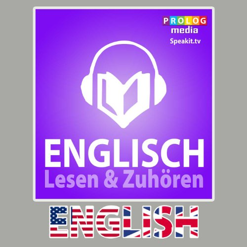 Englischer Sprachführer: Lesen & Zuhören [English Phrasebook: Reading & Listening] audiobook cover art