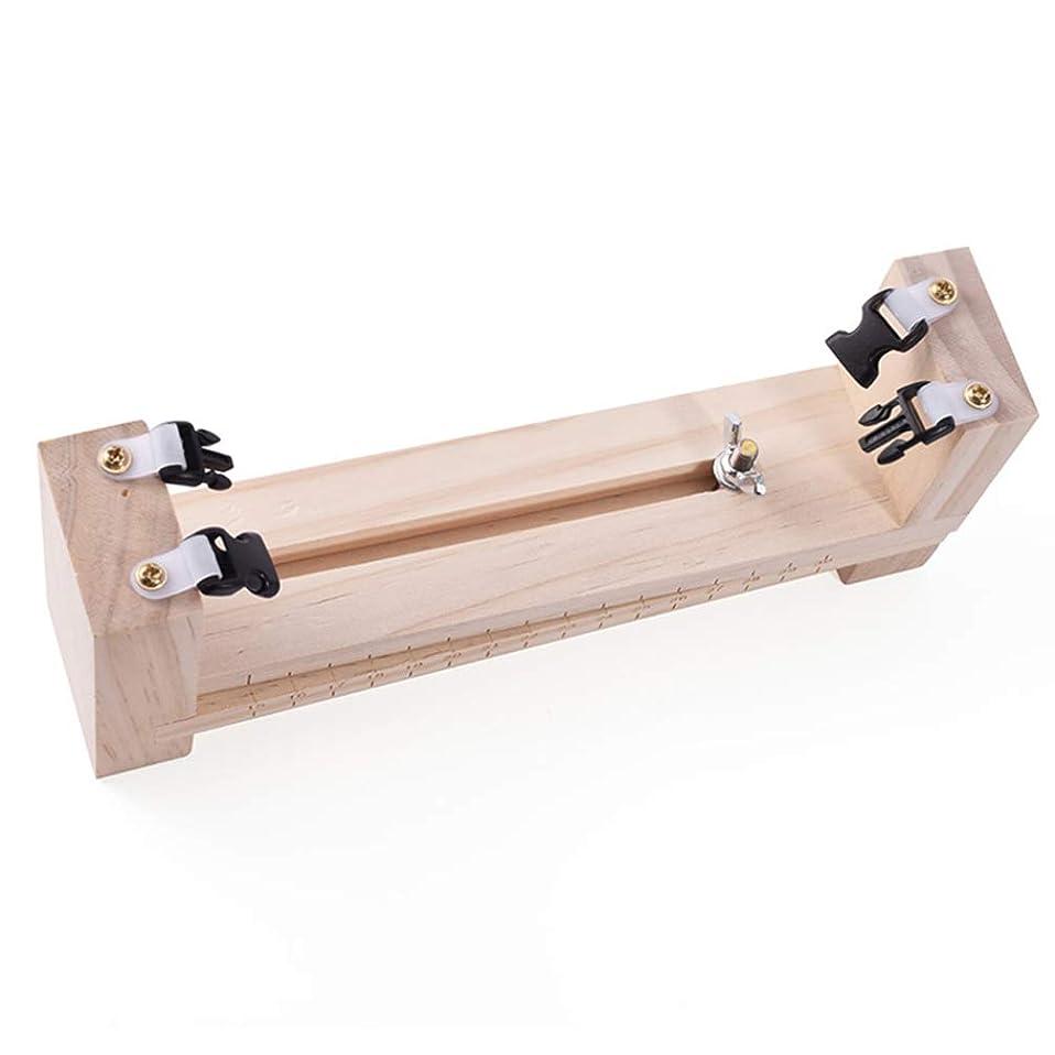 戸棚恩恵言うまでもなくEXCEART Paracordジグブレスレットキット木製織りdiyクラフトparacordツール調整可能な長さparacordブレスレットメーカーキット