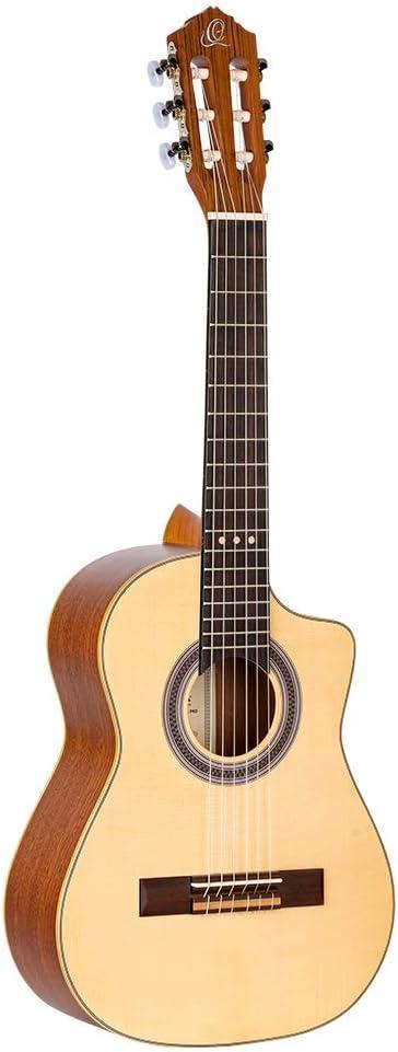 Ortega Requinto Series Pro Guitarra acústica 6 cuerdas - + Bolsa (RQ38)