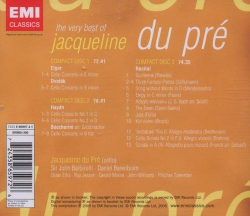 The Very Best of Jacqueline du Pré
