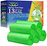 OKKEAI Biodegradable Trash Bags 13...