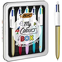 BIC My 4 Colours Box - bolígrafos, Caja de 5