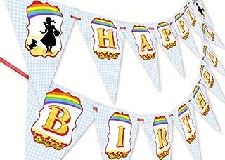 Wizard of Oz Happy Birthday Banner Pennant