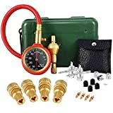 VZCY Tire Deflator Tools, 21 Pcs AutomaticTire Pressure Gauge Kit, Adjustable Air Deflating Set with Storage Box for Cars, Trucks, Motorcycles, Bicycles