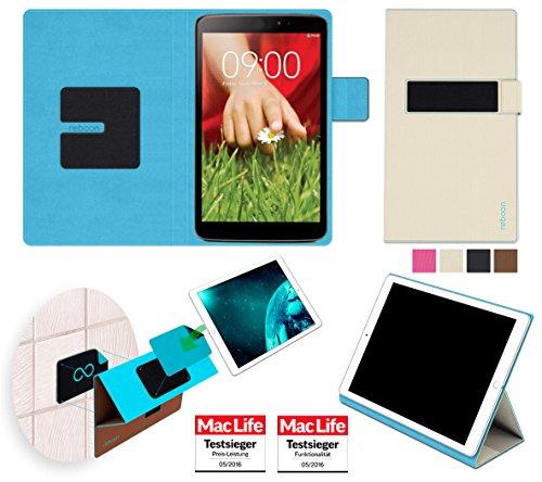 reboon Hülle für LG G Pad 8.3 Tasche Cover Case Bumper | in Beige | Testsieger