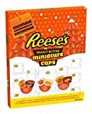 Calendario de Adviento de Reese. Americano chocolate mantequilla de maní Navidad xmas