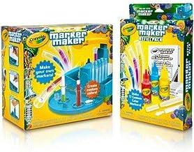 Crayola Marker Maker Kids Craft Arts Kit Bonus Refill Pack Value Pack