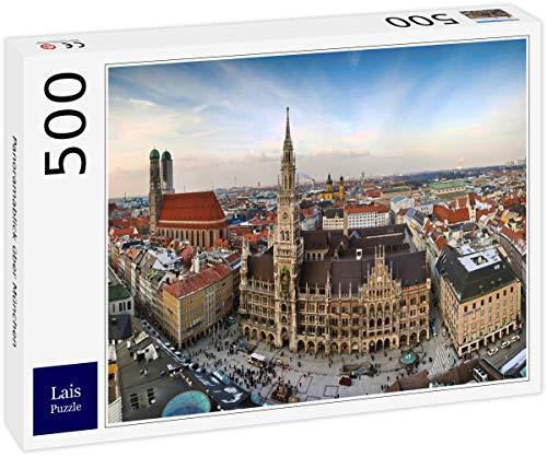 Lais Puzzle Vista panorámica sobre Munich 500 Piezas