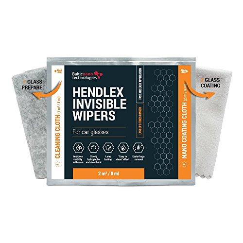 Hendlex Invisible Wipers Nano repelente Agua Parabrisas Para Cristales de Coches | Antilluvia Parabrisas Invisible