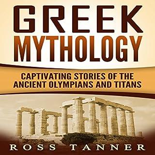 Greek Mythology audiobook cover art