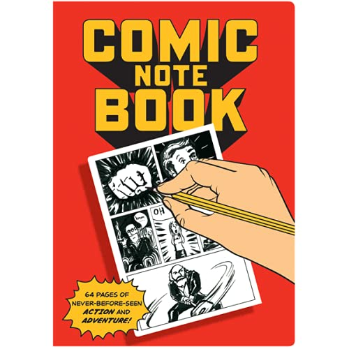 Comic Book Notebook - Filled With Blank Panels for Creating Your Own Comics - 7' x 4.75'