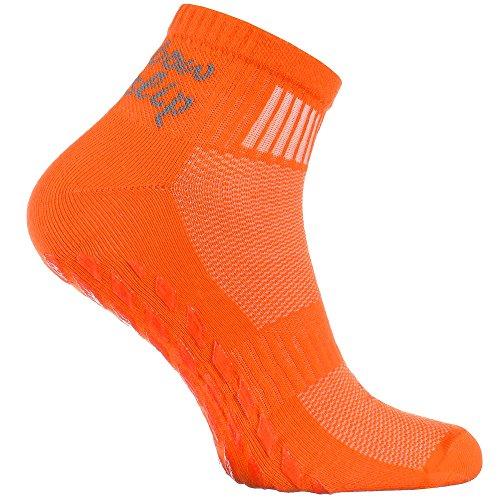 Rainbow Socks - Femme Homme Chaussettes Antidérapantes de Sport en Coton