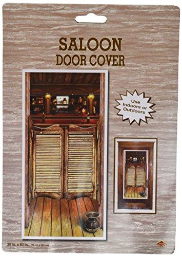 Beistle 57127 Saloon Door Cover, 30-Inch by 5-F
