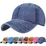UMIPUBO Gorras Beisbol Deportes Unisex Adjustable al Aire Libre Cap clásico algodón Casual Sombrero Gorras de béisbol (Azul Marino)