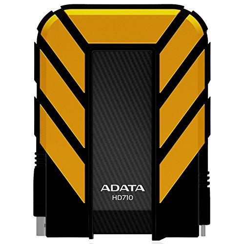ADATA HD710 Externe Festplatte 2000 GB Gelb - Externe Festplatten (2000 GB, 2.5 Zoll, 3.0 (3.1 Gen 1), Gelb)