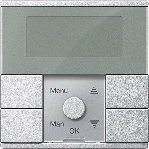 Merten Zeitschaltuhr-Modul MEG5754-0460 Aluminium System M Zeitschaltuhr für Installationsschalterprogramme 4042811185619
