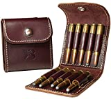 Bandera USA Leather Ammo Case – Brown – 10 Regular Loops