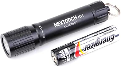 Mini LED Light EDC Flashlight Pocket-Sized Keychain Flashlight Super Bright 100 Lumens Waterproof for Camping Hiking Hunti...