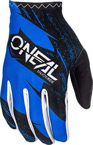 0388R-141 - Oneal Matrix 2018 Burnout Motocross Handschuhe XL blau schwarz
