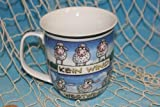 Hösti - Becher Kaffeebecher aus Porzellan 'Windrichtung - Schafe' 400ml Tasse