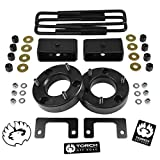 TORCH 3' Front 2' Rear Leveling Lift Kit For 2007-2019 GMC Sierra Chevy Silverado 1500