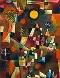 Kunstdruck/Poster: Paul Klee Der Vollmond - hochwertiger