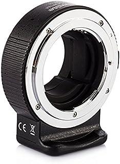 Commlite cm-enf-e adaptador de montura de lente para Nikon F lente a Sony E Mount cámaras con TARION gamuza de polvo