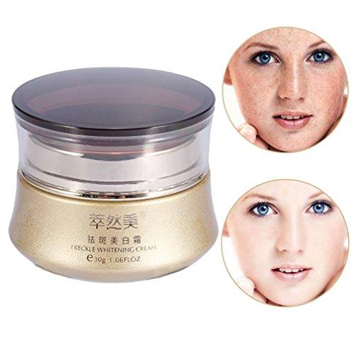 Gesichtshaut Whitening Dark Spots Fleck Sommersprossen Entfernung Repair Cream, 30g