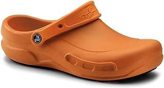 Crocs SureGrip Unisex - Adult Mario Batali Bistro Orange Slip Resistant Work Clogs 7M