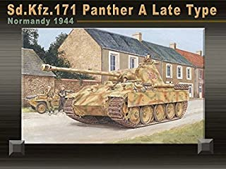 Dragon Models 1/35 Sd.Kfz. 171 Panther A Late Type, Normandy 1944 Kit