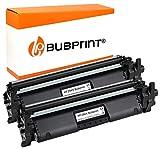 Bubprint - 2 toner XXL compatibile per HP CF294X CF294 X 94X per Laserjet Pro M118 M118DW M148FDW M148DW MFP M148 M149, 2800 pagine, colore: Nero