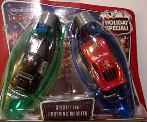 Disney   Pixar CARS X Mas Holiday Spezial Sheriff und Lightning McQueenWihnachtspezial Edition