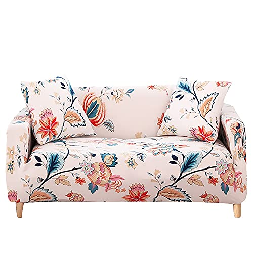ASCV Funda de sofá Cama sin reposabrazos Fundas de Asiento Plegables Funda elástica Protector de sofá Fundas de futón de Banco elástico Moderno A8 3 plazas