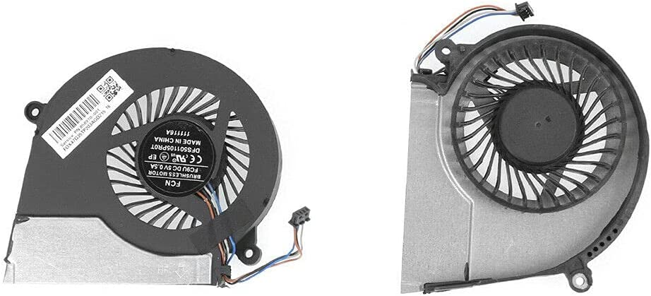 New for HP Pavilion 15-E 17-E Indefinitely Cooling Fan 2021 CPU Laptop OEM