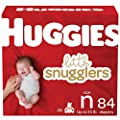 Huggies Little Snugglers Baby Diapers, Size Newborn, 84 Ct by Kimberly-Clark Corp.