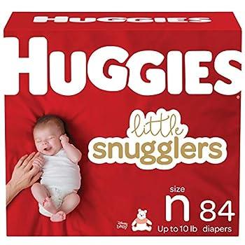 Huggies Little Snugglers Baby Diapers Size Newborn 84 Ct